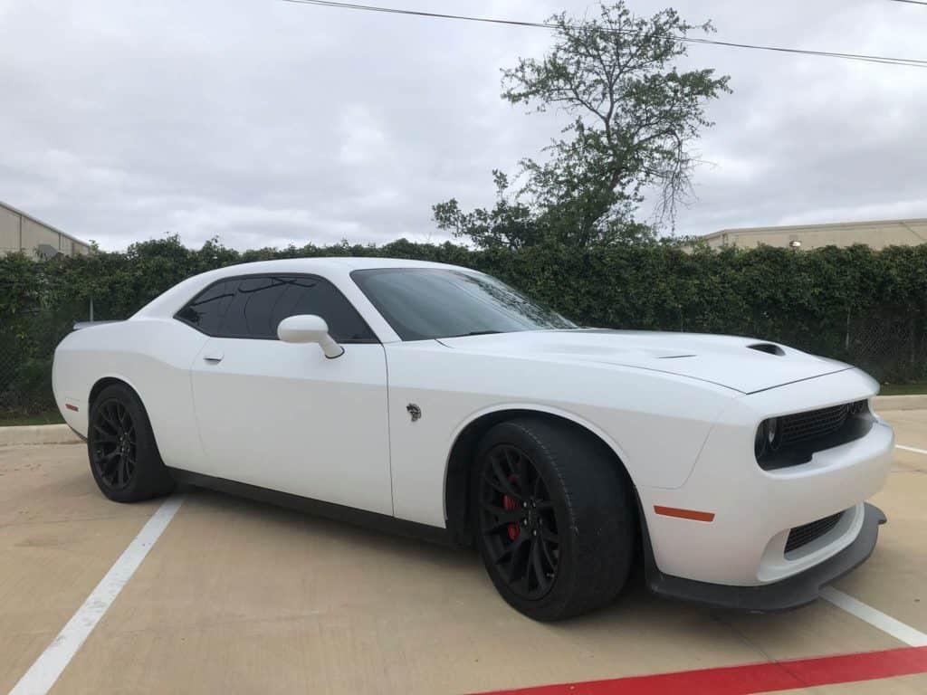 2015 Dodge Challenger Hellcat STEALTH matte paint wrap